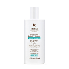 KIEHL'S SINCE 1851 ULTRA LIGHT DAILY UV DEFENSE SPF50 PA+++