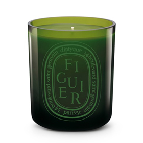 DIPTYQUE SCENTED COLOURED CANDLE - FIGUIER VERTE
