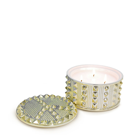 JONATHAN ADLER PEACE STUD SCENTED CANDLE