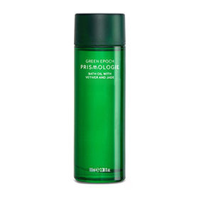 PRISMOLOGIE GREEN EPOCH JADE & VETIVER BATH OIL