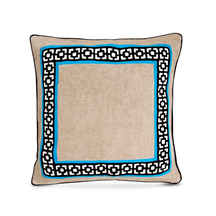 Jonathan Adler - Palm Springs Embroidery Linen Pillow