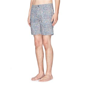 "ONIA 'CALDER' 7.5"" GEOMETRIC LIBERTY PRINT SWIM SHORTS"