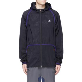 ADIDAS X KOLOR PERFORATED NYLON HOOD JACKET