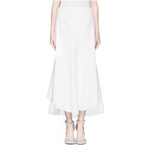 Ellery - Nomadic Bonded Boucle High Waist Skirt