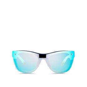 3.1 PHILLIP LIM MOUNTED LENS ACETATE D-FRAME SUNGLASSES