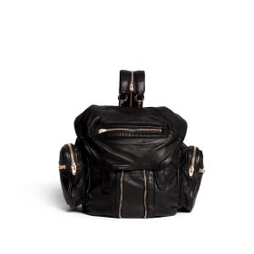 ALEXANDER WANG 'MARTI' WASHED LEATHER BACKPACK