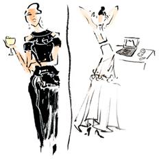 Toni Maticevski's Black & White Party