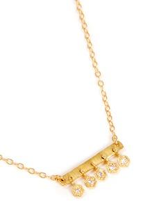 ILA&I 'Saffron' diamond necklace