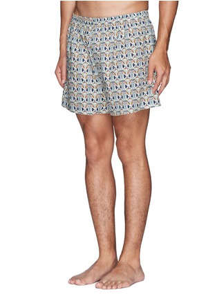 Figure View - Click To Enlarge - Sunspel - Liberty abstract floral print trunks