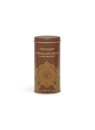 Main View - Click To Enlarge - FORTNUM & MASON - Piccadilly Chocolate Pearl Biscuits