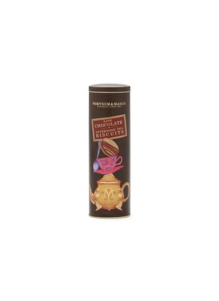 Main View - Click To Enlarge - FORTNUM & MASON - Afternoon Tea Biscuits - Dark Chocolate