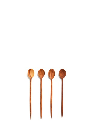 Main View - Click To Enlarge - CHABI CHIC - Olive wood spoon set