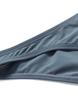 Detail View - Click To Enlarge - Flagpole Swim - 'Shay' cutout colourblock cropped tankini set
