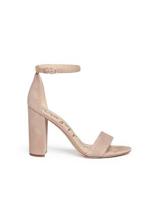 40a2d6e956df5 Sam Edelman  Yaro  ankle strap suede sandals