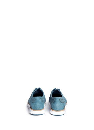 Back View - Click To Enlarge - Cole Haan - ZeroGrand' suede Oxfords