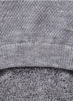 Detail View - Click To Enlarge - FALKE - 'Cool Kick Invisible' sneaker ankle socks