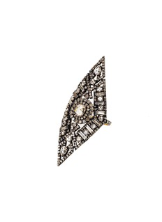 Aishwarya Diamond gold alloy rhombus ring