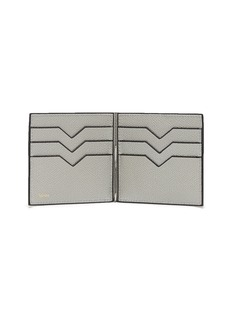 Valextra Simple Grip Spring leather wallet – Ash Grey