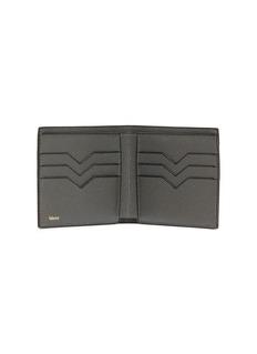 Valextra Leather bifold wallet –Smokey London Grey