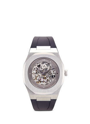 Main View - Click To Enlarge - D1 MILANO - 'SK 01' cutout dial automatic watch