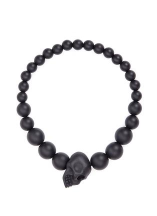 Main View - Click To Enlarge - Alexander McQueen - Skull charm metal ball bracelet