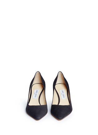 Front View - Click To Enlarge - Jimmy Choo - 'Romy 60' suede pumps