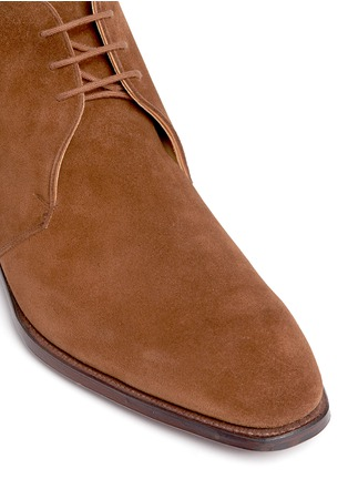 Detail View - Click To Enlarge - George Cleverley - 'Nathan' suede chukka boots