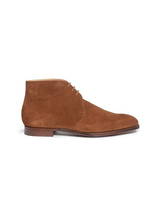 Main View - Click To Enlarge - George Cleverley - 'Nathan' suede chukka boots