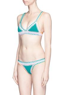 Kiini 'Liv' crochet trim bikini bottoms