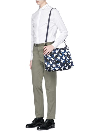 Front View - Click To Enlarge - VALENTINO - 'Camustars' print tote bag