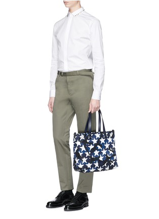 Figure View - Click To Enlarge - VALENTINO - 'Camustars' print tote bag