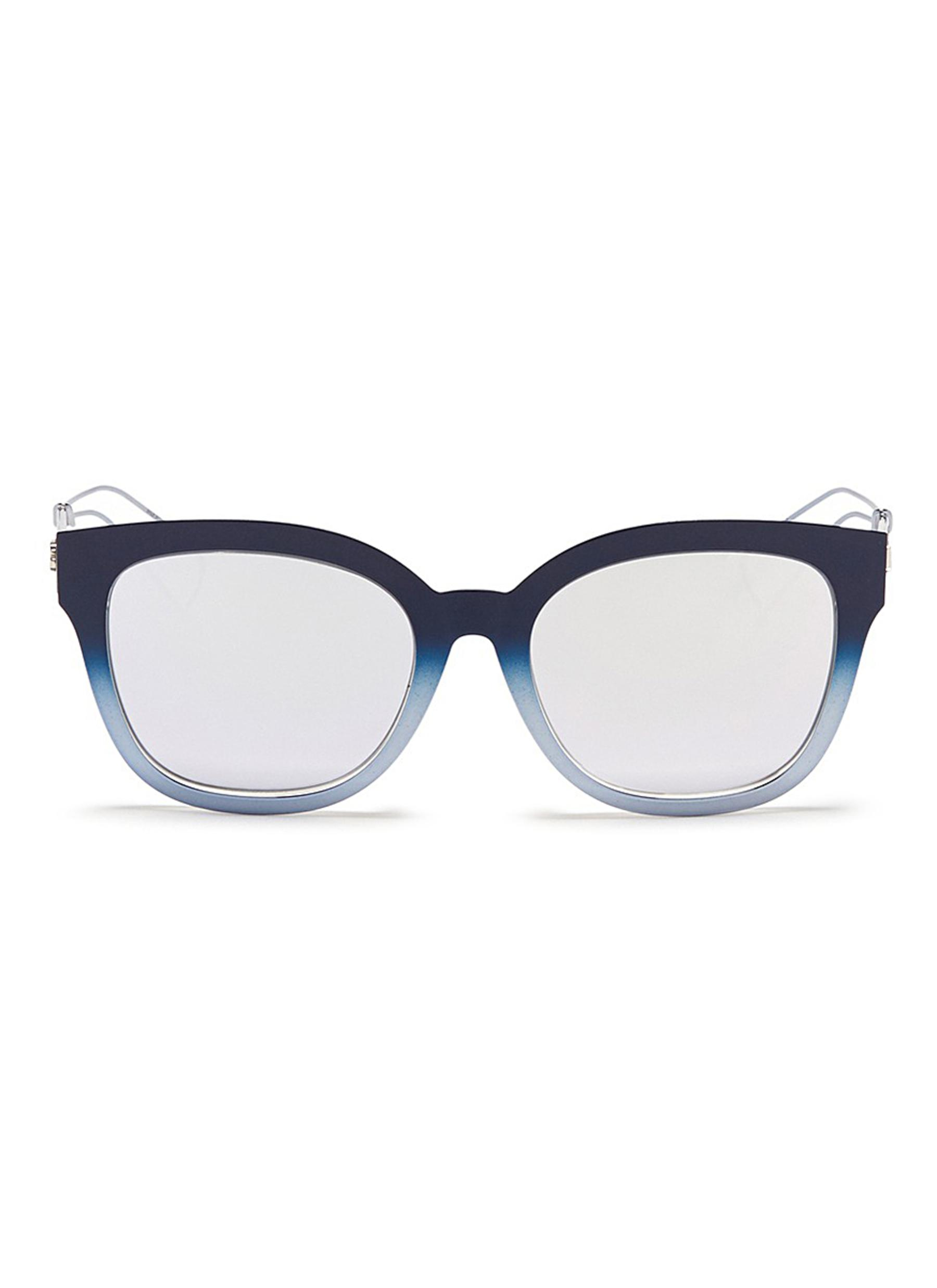17c46069c6e8 Dior.  Diorama 1  degradé metal openwork temple mirror sunglasses