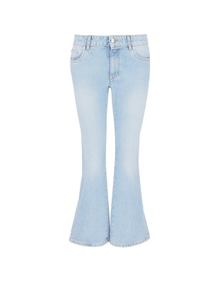 Main View - Click To Enlarge - Alexander McQueen - Cropped bell-bottom jeans