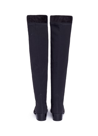 Back View - Click To Enlarge - Stuart Weitzman - 'Reserve' stretch suede knee high boots