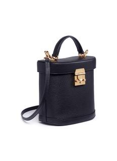 Mark Cross 'Benchley' pebble grain leather binocular bag