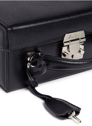 - MARK CROSS - 'Grace Large Box' saffiano leather trunk