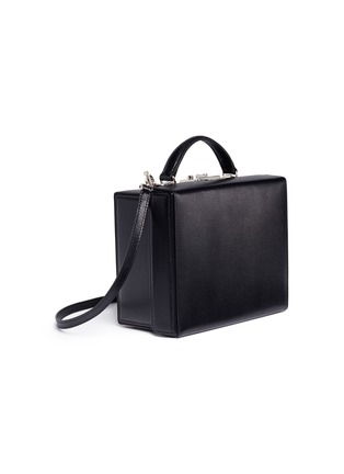 Figure View - Click To Enlarge - MARK CROSS - 'Grace Large Box' saffiano leather trunk