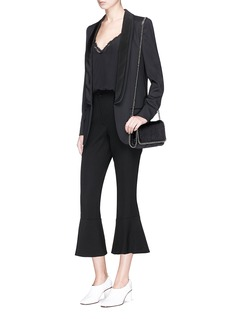 Stella McCartney 'Melissa' layered shawl lapel blazer