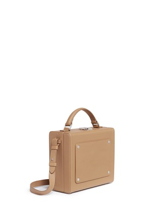 Detail View - Click To Enlarge - 71172 - 'Art' leather trunk bag