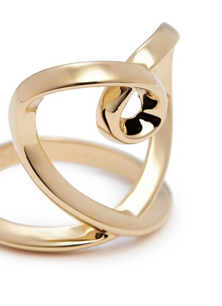 Detail View - Click To Enlarge - Chloé - 'Heart' twist band ring