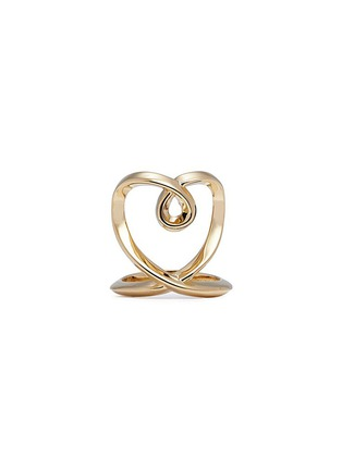 Main View - Click To Enlarge - Chloé - 'Heart' twist band ring