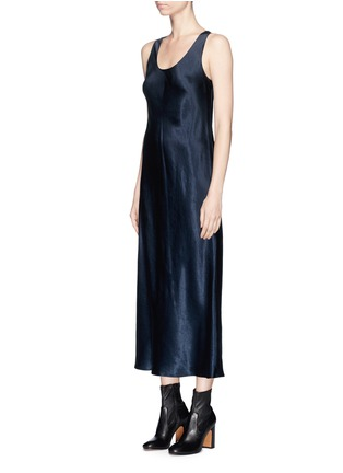 Front View - Click To Enlarge - VINCE - Satin sleeveless dress