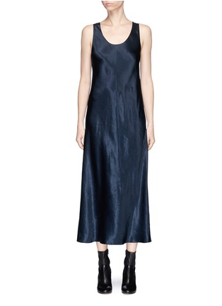 Main View - Click To Enlarge - VINCE - Satin sleeveless dress