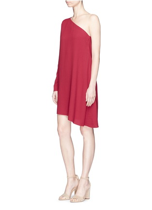 Figure View - Click To Enlarge - THEORY - 'Sintsi' asymmetric one-shoulder crepe dress
