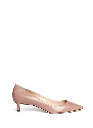 Main View - Click To Enlarge - Jimmy Choo - 'Romy 40' kid leather pumps