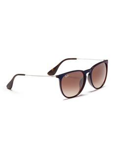 Ray-Ban 'Erika' nylon front metal temple sunglasses