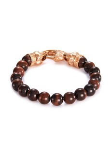 Stephen Webster 'Beasts of London Raven Head' bullseye bead bracelet