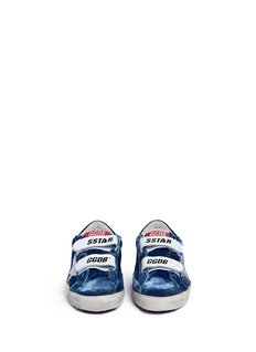Golden Goose 'Old School' velvet kids sneakers