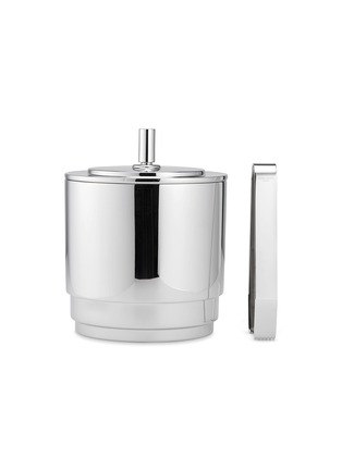 Main View - Click To Enlarge - GEORG JENSEN - Manhattan ice bucket and tongs