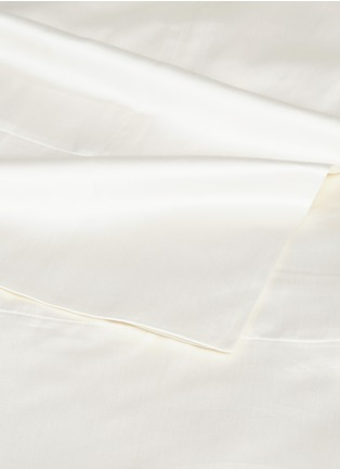 Detail View - Click To Enlarge - FRETTE - Ultimate queen size duvet set – Ivory